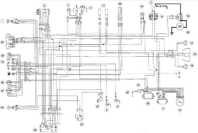 cagiva motorcycle manuals pdf wiring diagrams fault codes rh motorcycle manual com Residential Electrical Wiring Diagrams Residential Electrical Wiring Diagrams
