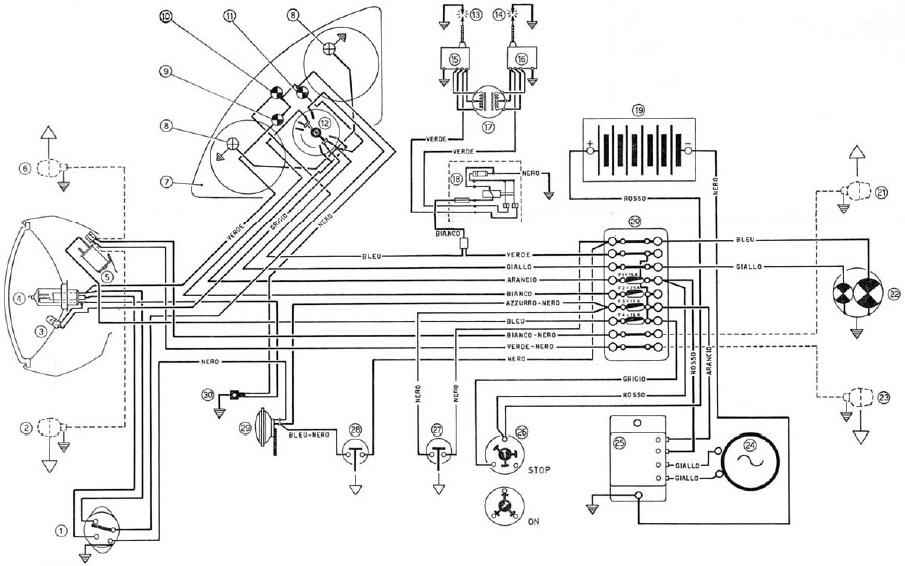 ducati motorcycle manuals pdf wiring diagrams fault codes rh motorcycle manual com Ducati 750Gt Wiring-Diagram Stator Wiring Diagram