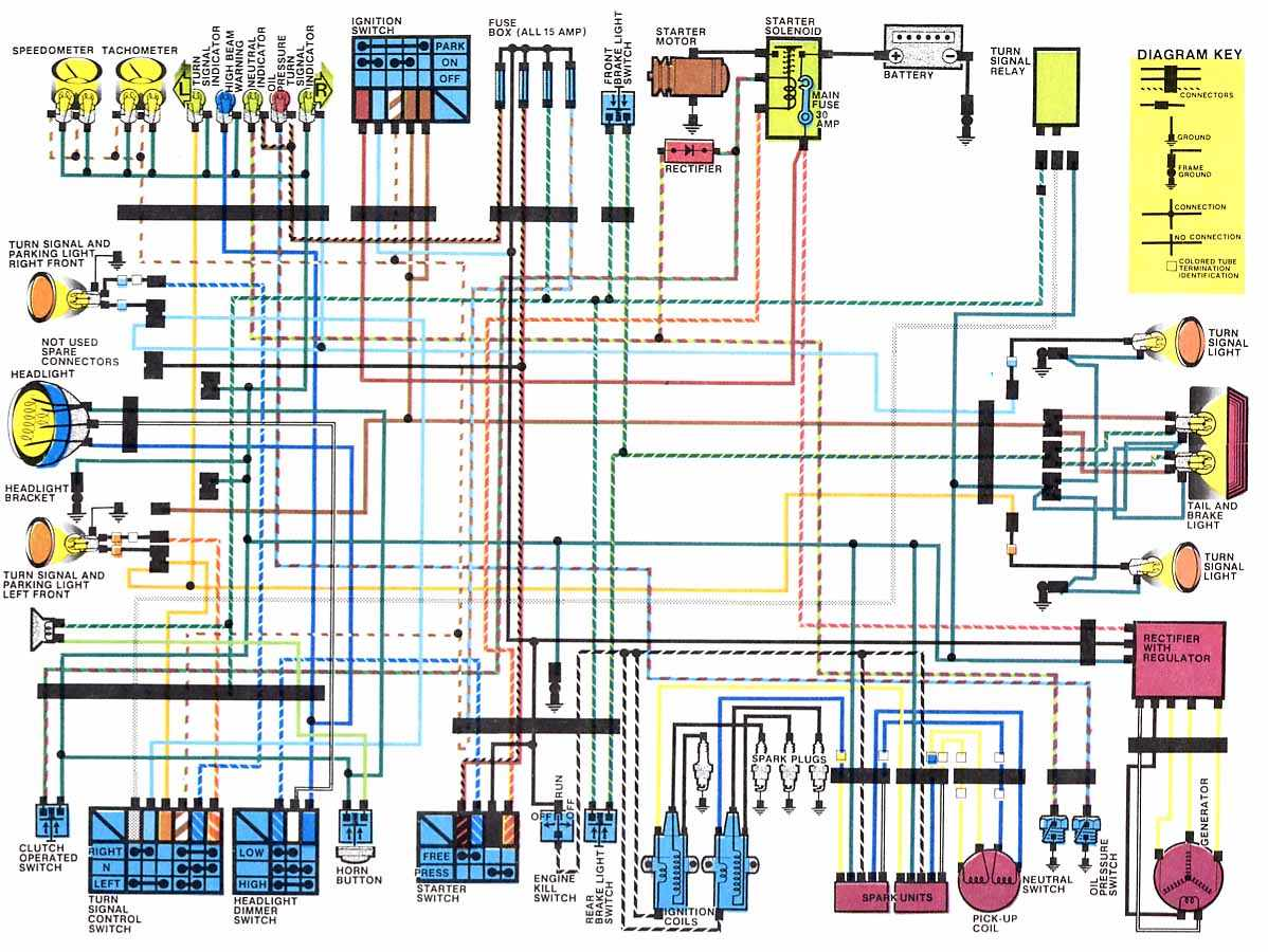 Motorcycles Shadow 500 Wiring Diagram Trusted Audi 2000 Honda Detailed Diagrams 2005 Civic