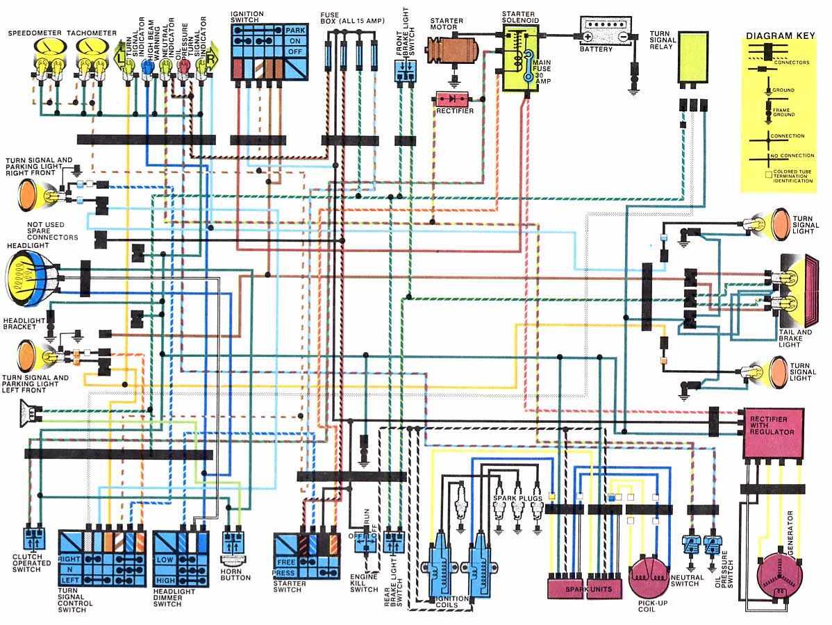 kawasaki ltd 1000 wiring diagram wiring diagram directory  kawasaki ltd 1000 wiring diagram #12