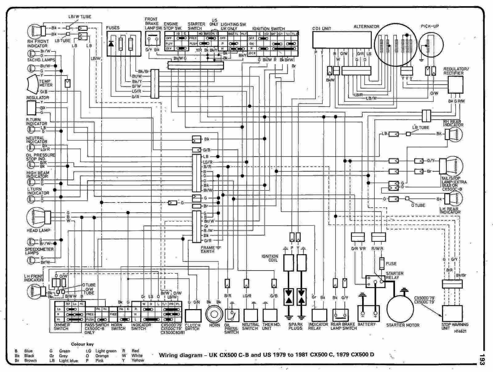 Honda Motorcycle Manuals PDF Wiring Diagrams Fault Codes