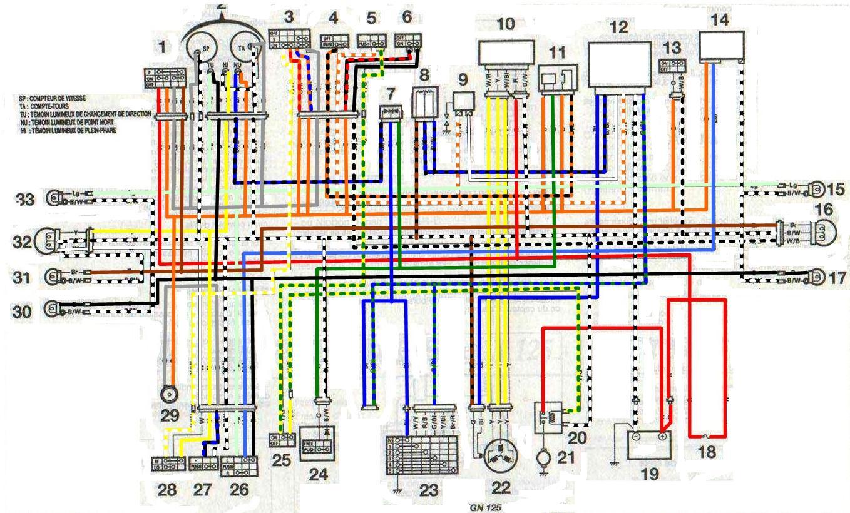 Motorcycle Driving Light Wiring Diagram