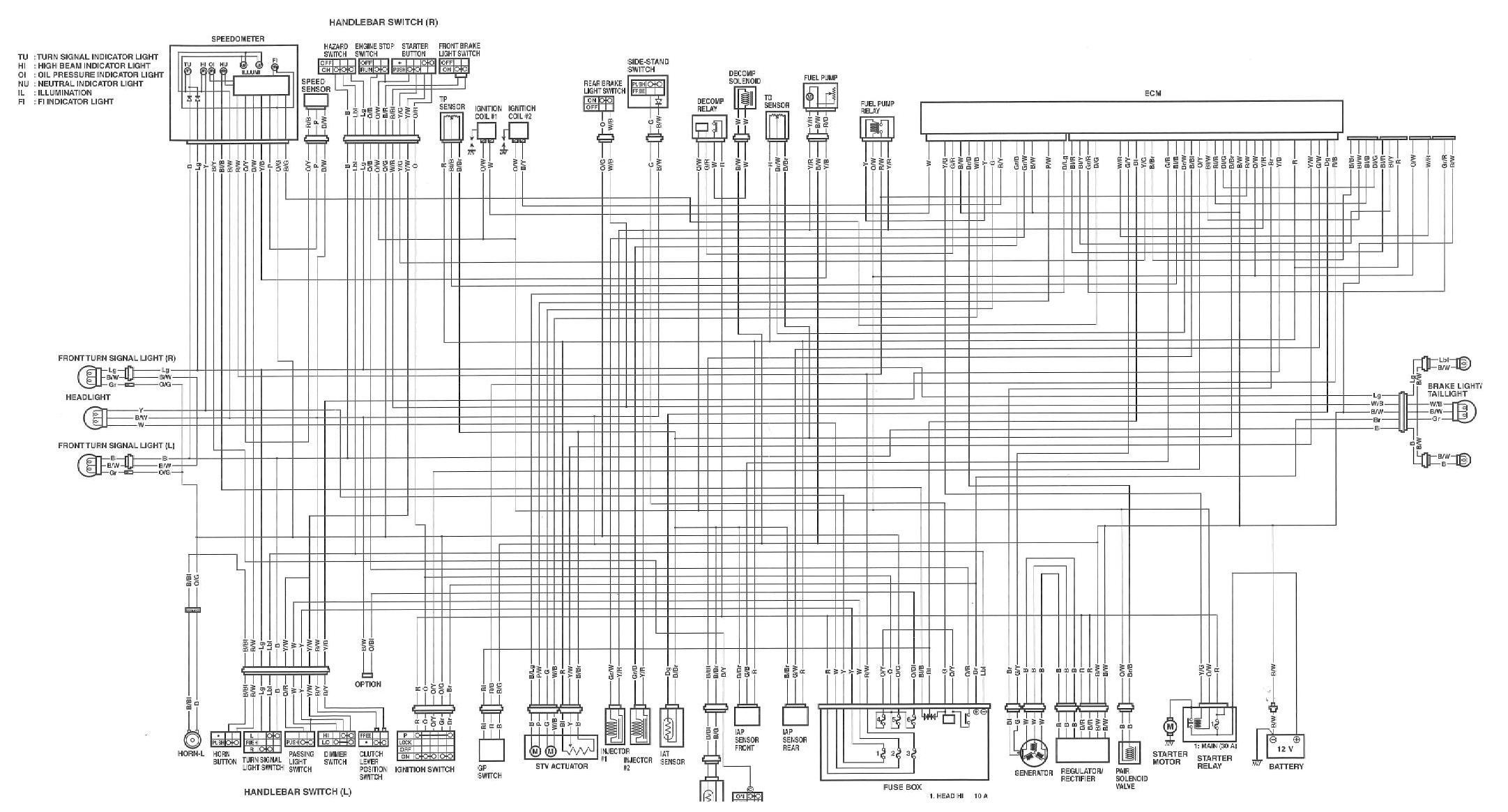 Vl800 Wiring Schematic Detailed Schematics Diagram 2001 Yamaha R1 Harness Wire Diagrams Maxxam 150 Suzuki Motorcycle