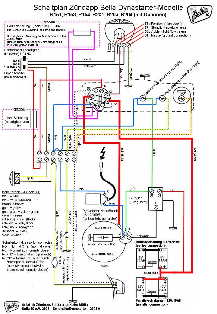 zundapp motorcycle manuals pdf, wiring diagrams & fault codes puch engine diagram moto guzzi engine diagram #42