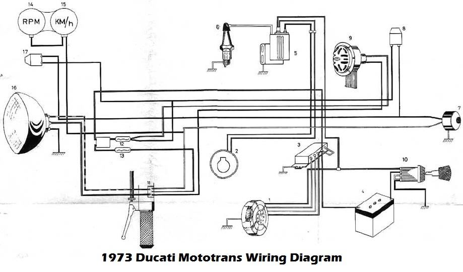 ducati motorcycle manuals pdf 1973 ducati mototrans wiring diagram