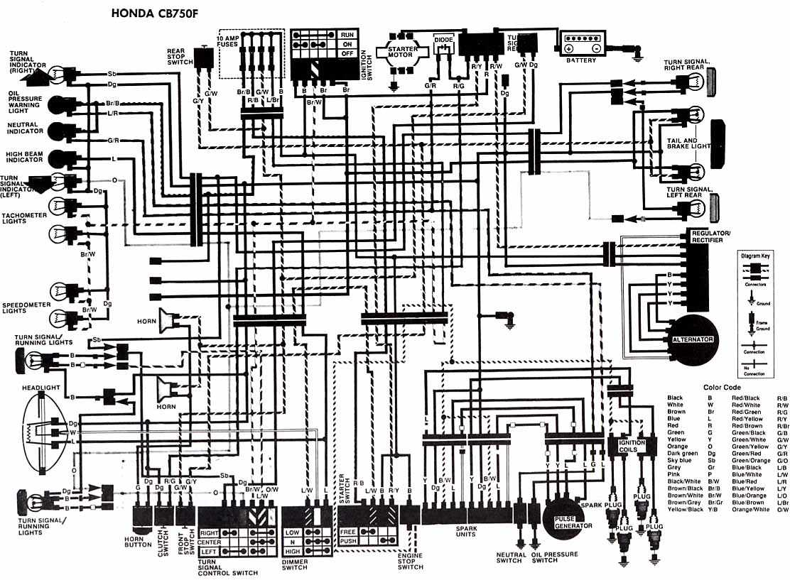 Honda Motorcycle Manuals Pdf Wiring Diagrams Fault Codes Electrical Installation Download