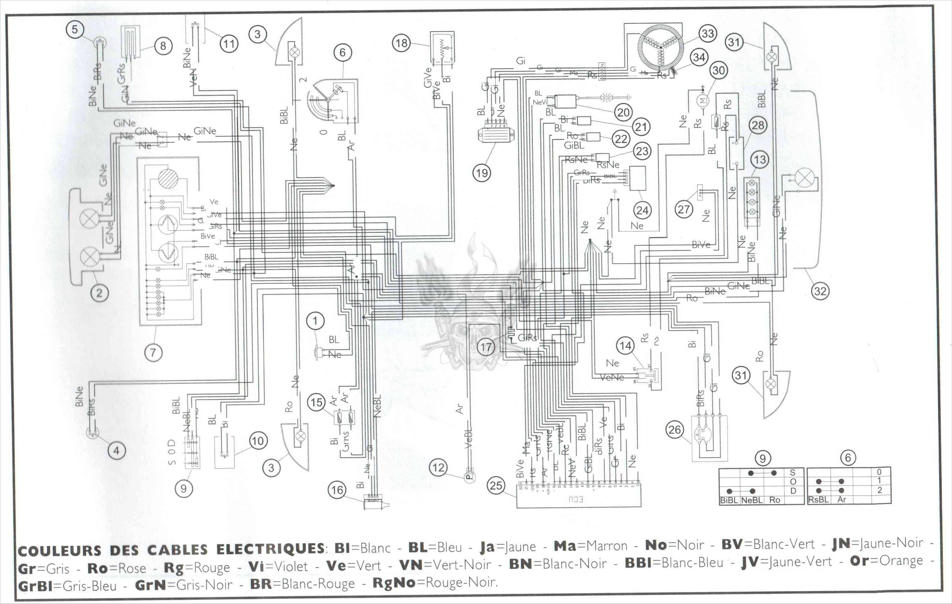 wildfire 150cc scooter wiring diagram