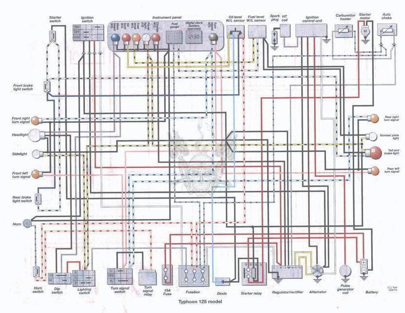 moto_schem_Piaggio_Typhoon_125_scooter Yamaha Motorcycles Wiring Diagram on yamaha wiring harness diagram, yamaha generator wiring diagram, yamaha moto 4 wiring diagram, yamaha seca xj650 wiring-diagram, yamaha banshee wiring-diagram, yamaha grizzly 600 wiring diagram, yamaha xs1100 wiring-diagram, yamaha virago wiring-diagram, yamaha rt100 schematic, yamaha dt 175 wiring-diagram, yamaha dt 100 wiring diagram, yamaha motorcycle wheels and tires, yamaha motorcycle drawings, yamaha motorcycle paint codes, yamaha schematic diagram, yamaha wiring schematics, yamaha xs650 wiring-diagram, yamaha motorcycle ignition system, yamaha rd 350 wiring diagram, yamaha 650 wiring diagram,