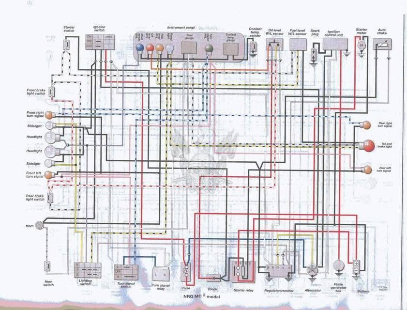 Piaggio Wiring Diagrams