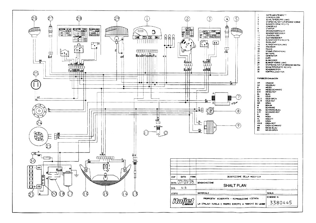 Italjet - Motorcycle Manuals PDF, Wiring Diagrams & Fault Codes
