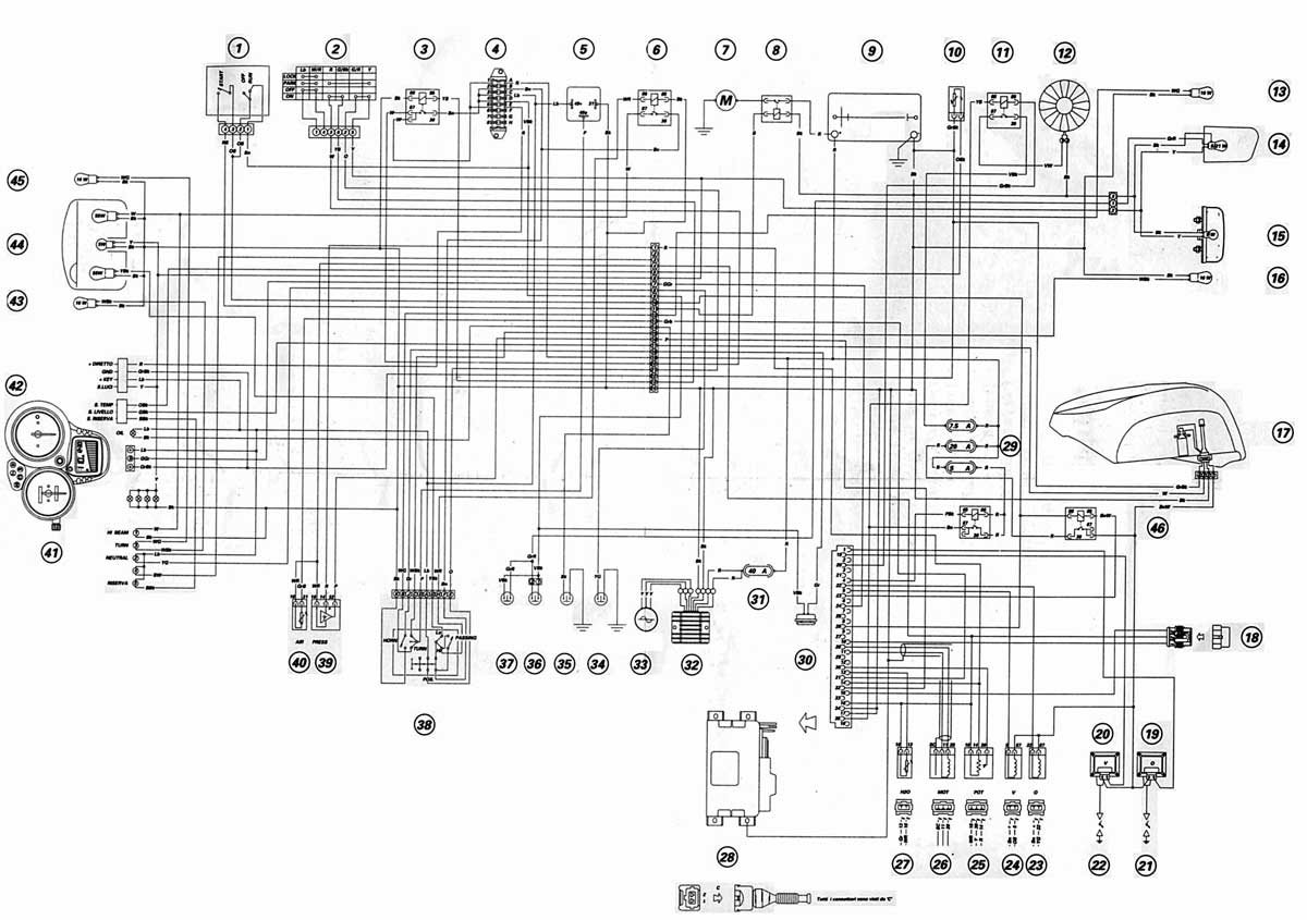 Schema Elettrico Yamaha R : Ducati monster 620 ie wiring diagram wiring diagram u2022