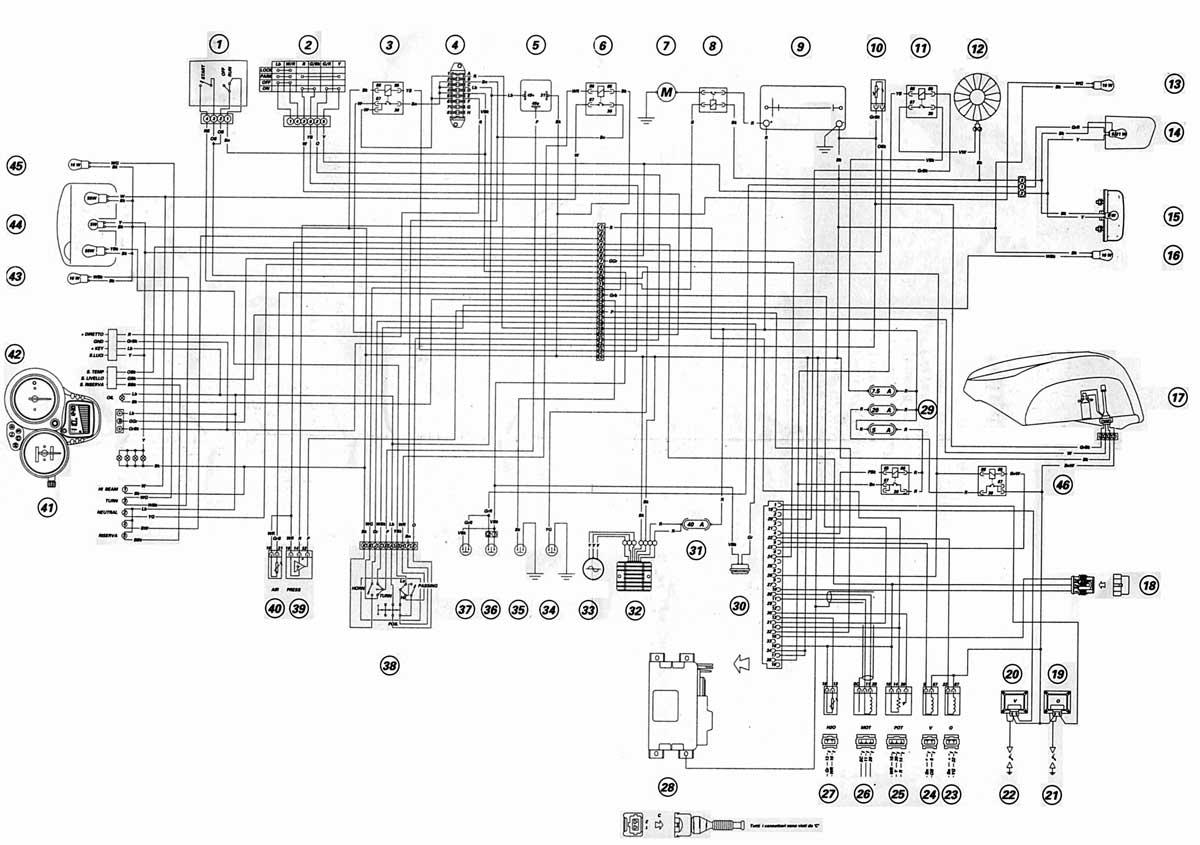 DUCATI - Motorcycles Manual PDF, Wiring Diagram & Fault CodesMOTORCYCLE Manuals PDF & Wiring Diagrams